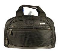 Сумка дорожная спортивная текстильная черная Refiand 89601, фото 1