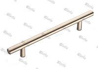 Ручка релинговая сатин RE 1006 (никель матовый)