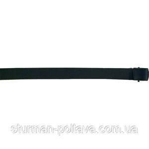 Ремень  мужской  брючной  черный   с металической пряжкой длина 120 см  Германия  MFH