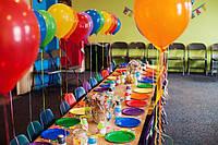 Гелиевые шары для праздника. Цвета в ассортименте