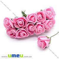 Роза латексная, 15 мм, Розовая, 1 шт (DIF-014626)