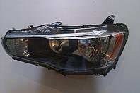 Фара передняя левая на Mitsubishi Lancer X