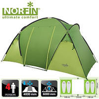 NF-10204 Палатка кемпинговая 4-х мест. Norfin Burbot 4 NF