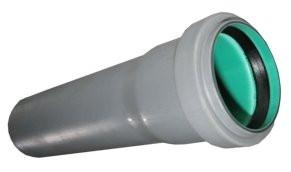 Труба каналізаційна Ø 110 L 1000 mm.