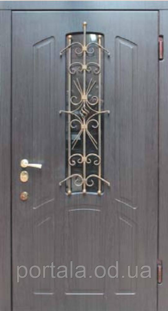 """Входная дверь для улицы """"Портала"""" (Премиум Vinorit) ― модель BIG-14"""