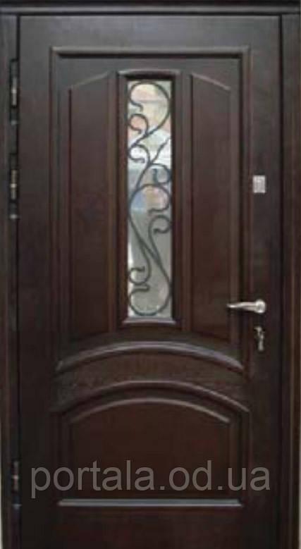 """Вхідні двері """"Портала"""" (серія Преміум) ― модель М-1 Vinorit (3-D)"""