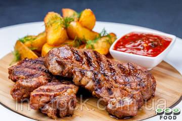Рецепт стейка из свинины на электрогриле