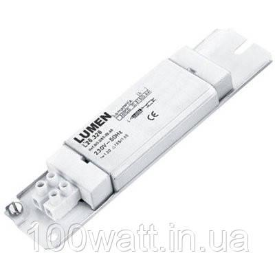 Электромагнитный дроссель для люминесцентных ламп Т8 1х20w (18вт) LUMEN LIGHTING