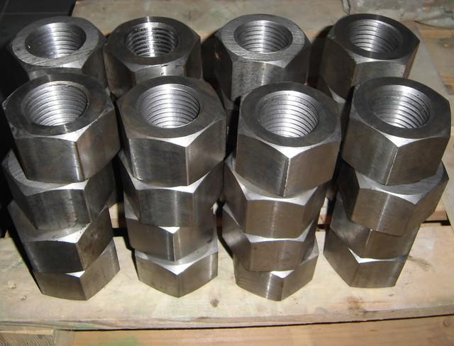 Гайка  для фланцевых соединений ГОСТ 9064-75, класс прочности 6.0, 8.0, 10.0 | Фотографии принадлежат предприятию Крепсила