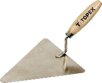 Кельма каменщика 180х180мм TOPEX
