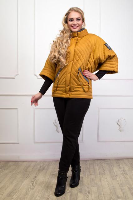 Демисезонные куртки, пальто больших размеров