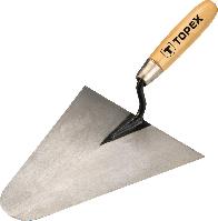 Кельма каменщика с закругленным углом 200х185мм TOPEX