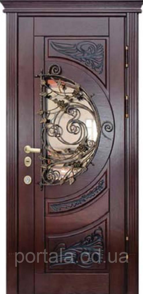"""Входная дверь """"Портала"""" (серия Премиум) ― модель M-8 Vinorit (3-D, патина)"""