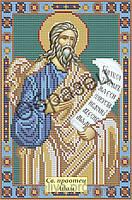 Схема для вышивки бисером «Святой праотец Адам»