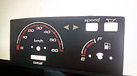 Шкалы приборов Suzuki lets 2, фото 1