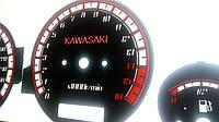 Шкалы приборов Kawasaki zz R600, фото 1