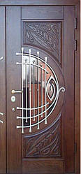 """Вхідні двері """"Портала"""" (серія Преміум) ― модель M-7 Vinorit (3-D, патина)"""