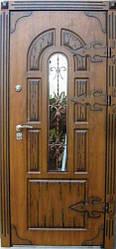 """Вхідні двері """"Портала"""" (серія Преміум) ― модель Прага Vinorit (3-D, патина)"""