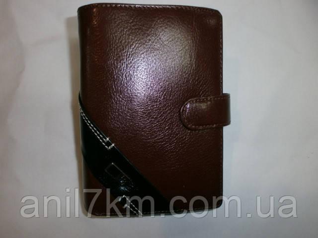 Мужской кошелёк-портмоне для денег и документов фирмы BRUNA BURANI - Мир Чемоданов,Сумок        в Одессе