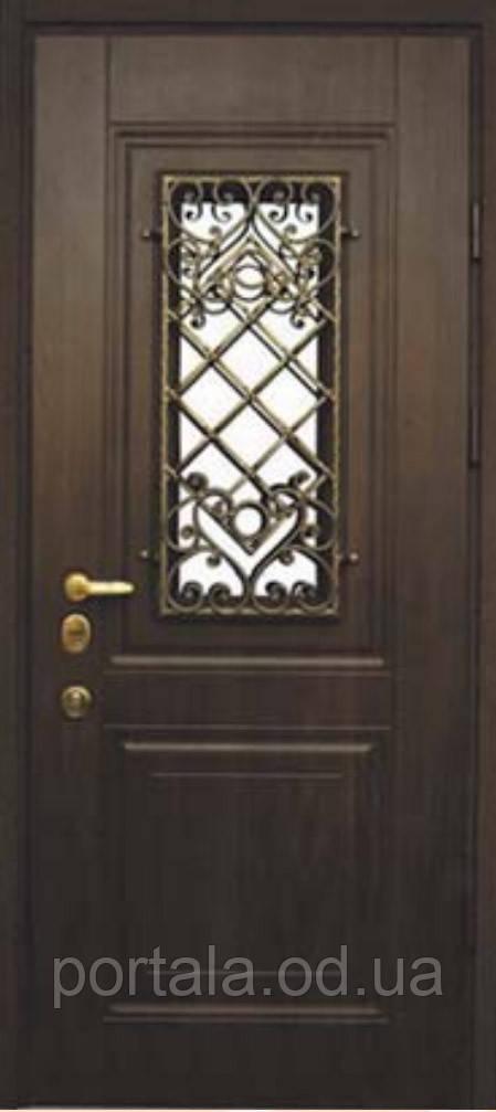 """Вхідні металеві двері """"Портала"""" (Еліт класу) ― модель Прованс Vinorit"""