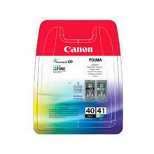 Картридж струйный Canon Pixma iP-1600/2200/MP-150/170/450 PG-40/CL-41 (0615B043) Multipack