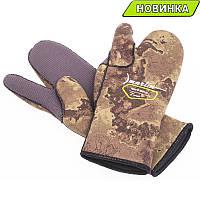 Трехпалые перчатки Marlin Nord Oliva 7 мм