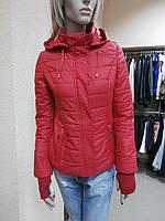 Курточка демисезонная красная