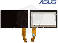 Дисплейный модуль (дисплей + сенсор) для Asus VivoTab TF600, черный, оригинал