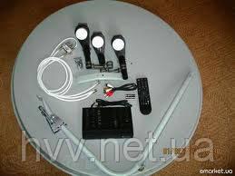 Комплект на 4 телевизора для самостоятельной установки