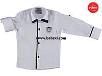 Рубашка белая 10 лет
