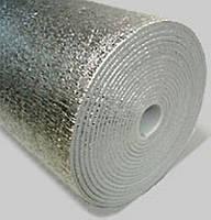 Листовая самоклеющаяся теплоизоляция из вспененного ПЭ (фольгированная) 2мм