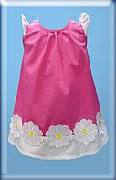 Летнее детское платье Ромашка