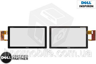 Touchscreen (сенсорный экран) для Dell Inspiron Duo, черный, оригинал