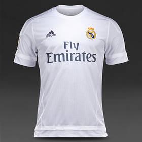 Футбольная форма 2015-2016 Реал Мадрид (Real Madrid), домашняя, белая, н1
