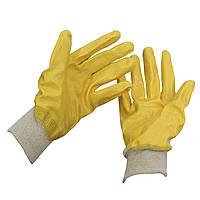 Перчатки трикотажные с частичным нитриловым покрытием (арт. 9209)