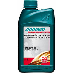 Масло трансмиссионное Addinol Getriebeol 75W-90 GH 1л (GL4/GL5) синт.
