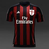 Футбольная форма 2015-2016 Милан (Milan), домашняя, н32