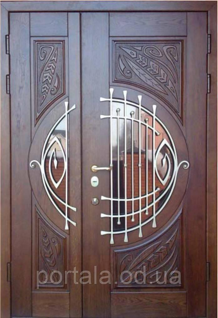 """Вхідна полуторні двері еліт класу для вулиці """"Портала Армекс"""" ― модель М-7"""