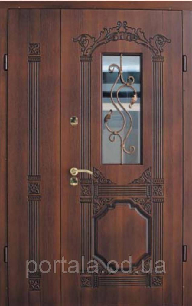 """Входная полуторные дверь для улицы """"Портала Армекс"""" ― модель BIG-4"""