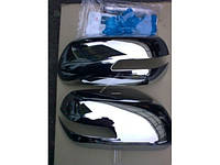 Хром накладки на зеркала на Сузуки Гранд Витара с 2005>  на зеркало с поворотником (хром пластик) EGR.