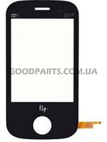 Сенсорный экран (тачскрин) для FLY E181 черный (Оригинал)