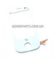 Сенсорный экран (тачскрин) для FLY E181 белый (Оригинал)