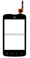Сенсорный экран (тачскрин) для FLY IQ238 Jazz черный (Оригинал)