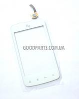 Сенсорный экран (тачскрин) для FLY IQ238 Jazz белый (Оригинал)