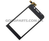 Сенсорный экран (тачскрин) для FLY IQ240 Whizz черный (Оригинал)