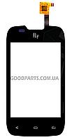 Сенсорный экран (тачскрин) для FLY IQ431 Glory черный (Оригинал)