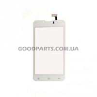 Сенсорный экран (тачскрин) для FLY IQ441 белый high copy