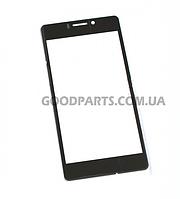 Сенсорный экран (тачскрин) для FLY IQ4412 Quad Coral (только стекло) черный (Оригинал)