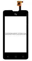 Сенсорный экран (тачскрин) для FLY IQ449 черный (Оригинал)