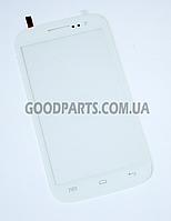 Сенсорный экран (тачскрин) для FLY IQ451 Vista белый (Оригинал)